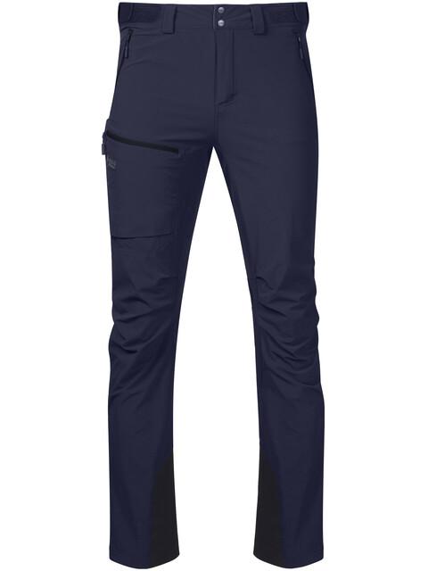 Bergans M's Breheimen Softshell Pants Navy/Dark Navy